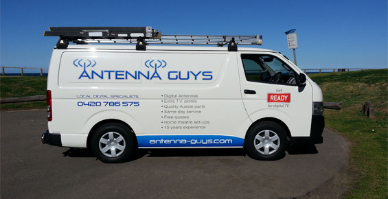 Antenna-Guys-Van